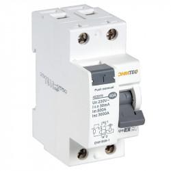 Interrupteur différentiel 1P+N 3kA, 40A type A